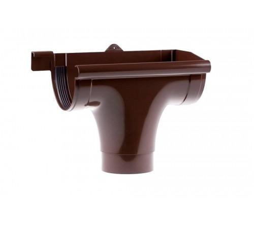 Воронка правая Profil 130/100 мм коричневая