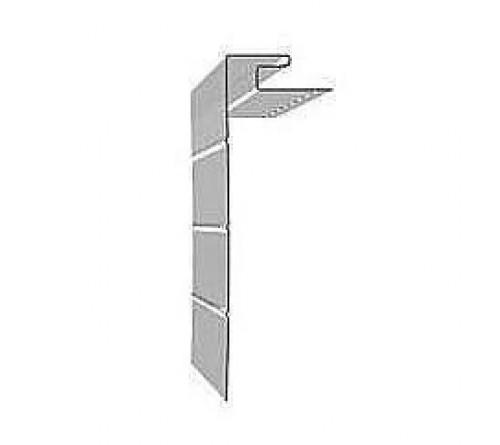 Профиль J-фаска Docke 3,05 м белый