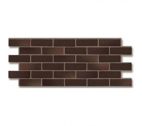 Фасадная панель Docke BERG кирпич 1,127х0,461 м коричневый