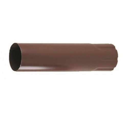 Соединитель труб Прушиньски Niagara 90х500 мм коричневый